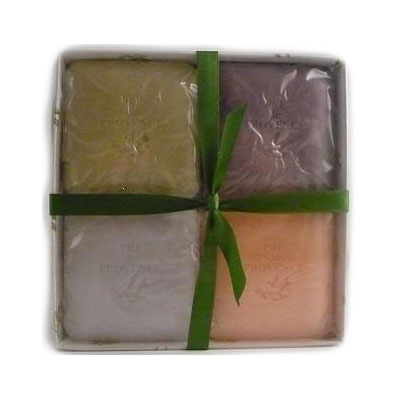 Pre de Provence 4 Luxury Soaps in a Gift Box - Minted Fig