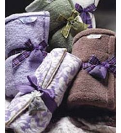 Sonoma Lavender Cuddle Throw- White
