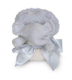 Barefoot Dreams 516 CozyChic Pocket Buddie Elephant