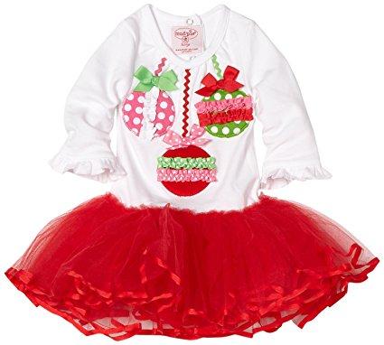 1fa3d5aee Mud Pie Christmas Ornament Tutu Dress (2T-3T) - Katrinatique®